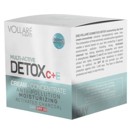 DETOX Intenzív Bőrhidratáló nappali arckrém