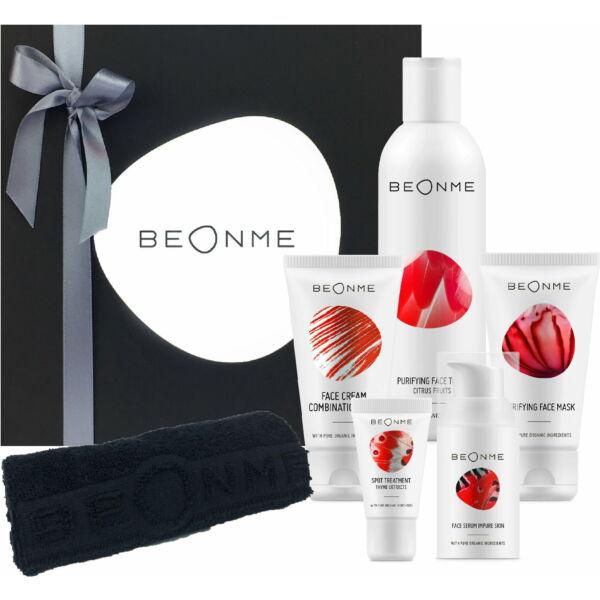 BeOnMe Impure Skin Ajándékszett Zsíros/Kombinált bőrre