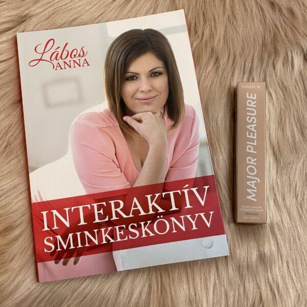 Interaktív Sminkeskönyv & Nabla szempillaspirál
