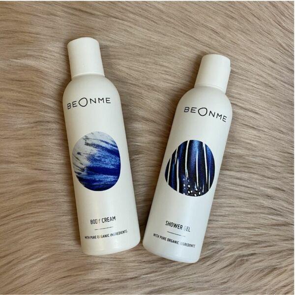 BeOnMe testápoló & tusfürdő csomag