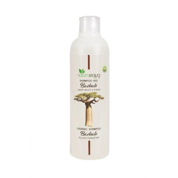 Baobab sampon - száraz és igénybevett hajra, 250 ml