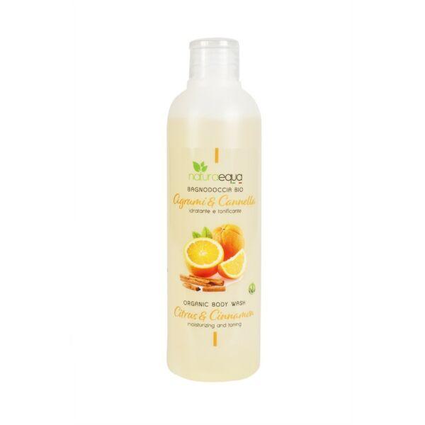Tusfürdő citrusokkal és fahéjjal, 250 ml