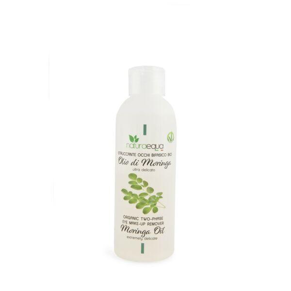 Kétfázisú szemsmink eltávolító moringa olajjal, 150 ml