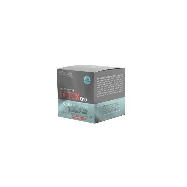 DETOX Intenzív Bőrregeneráló-oxigenizáló éjszakai arckrém hidratáló hatással