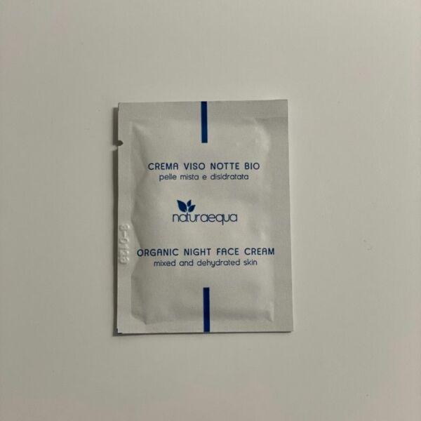 TESZTER • Organikus éjszakai arckrém, 3 ml