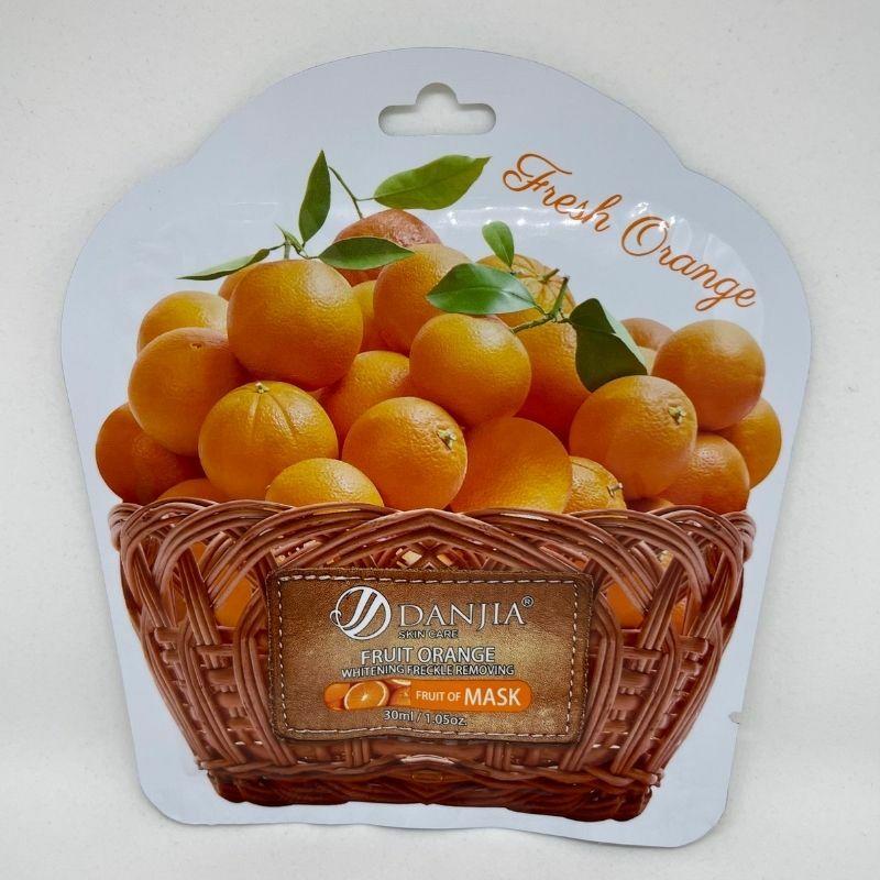 Hidratáló maszk friss naranccsal (1 db)