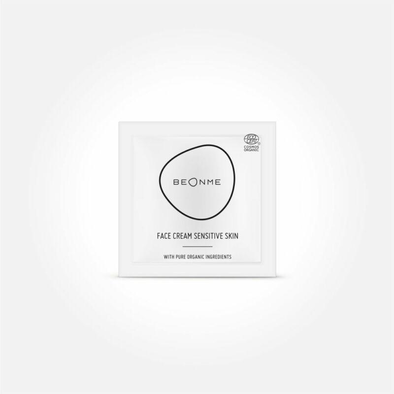 TESZTER • BeOnMe • Sensitive Skin arckrém • 2,5 ml