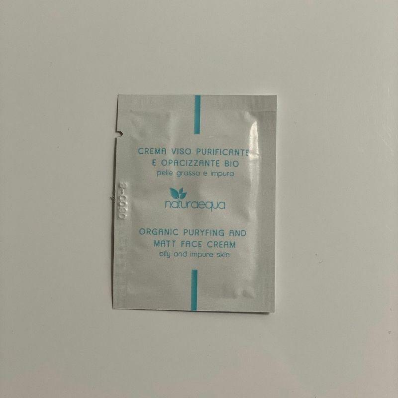 TESZTER • Organikus tisztító és mattító arckrém, 3 ml