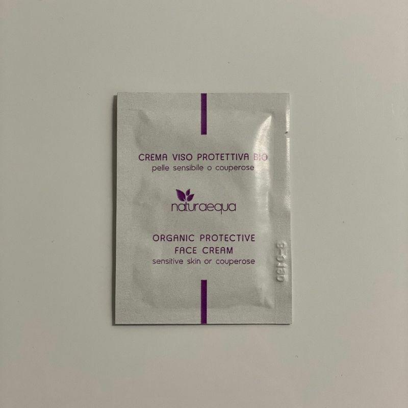 TESZTER • Organikus arcvédő krém, 3 ml