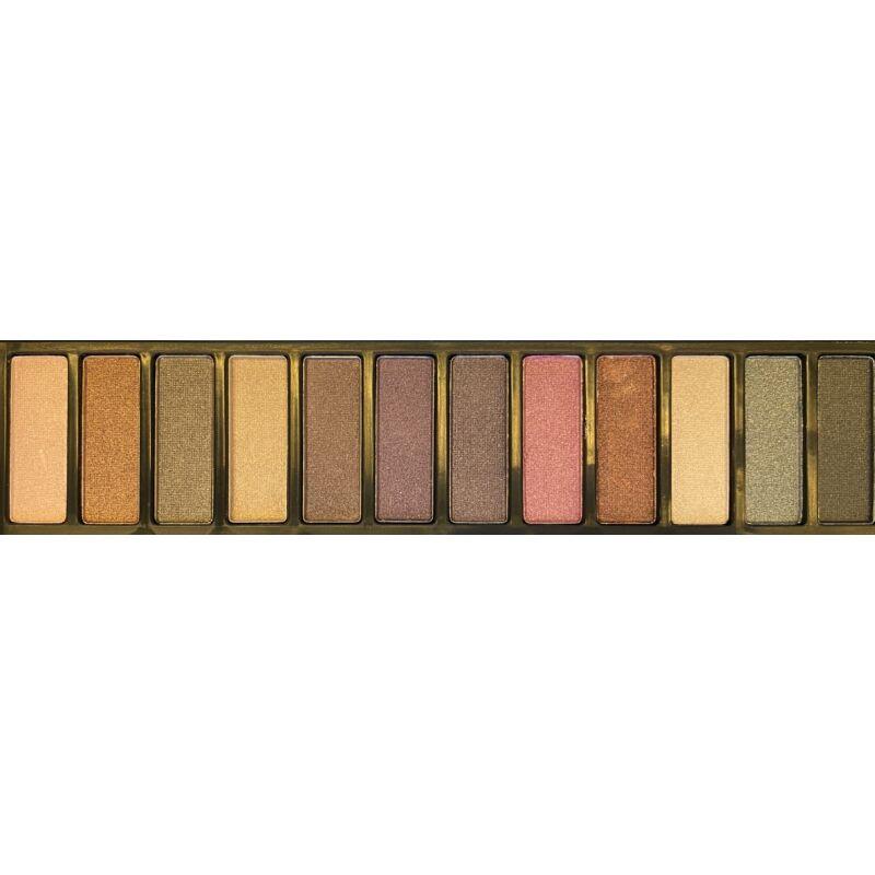Szemhéjárnyaló paletta • fémdobozos, 12 szín